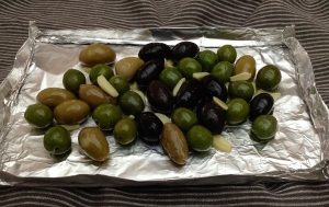 Olives Ready for Smoker #1