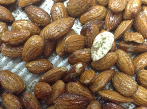 Roasted Almond in Duck Fat