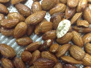 Roasted Almond in Duck Fat