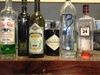 absinthe and gin