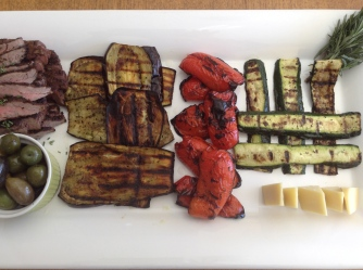 grilled meat and vegie spirits lunch 2