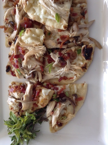 Roasted Chicken & Fig Pizza 2