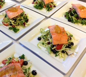 Salmon Salad #1