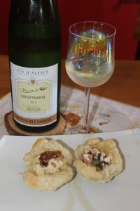 Sweet Puff Pastry Appetizers